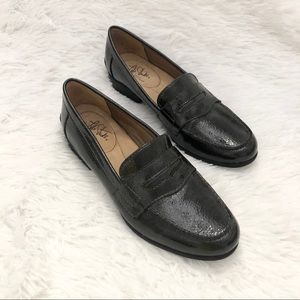 Life Stride Madison Black Patent Shoes